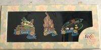 Disney's 10th Anniv 2003 Epcot Flower & Garden Festival 3 Pin set 21615