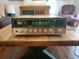 Sansui 7000 Stereo Tuner Amp With Original Box Excellent Working Condition