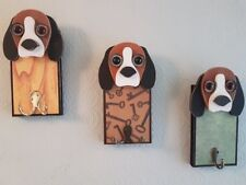 Beagle, Hand Crafted Lead Holder, One of a Kind, Other Breeds Available