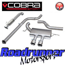 "Cobra Focus ST250 MK3 Turbo Trasera de Escape 3"" no Res & de Cat Bajante FD47d Nuevo"