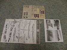 Modeldecal decals 1/72 Set#27 Phantom FGR2 Buccaneer S2A Hunter T7 Canberra E120