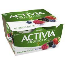 Activia Probiotic Berries Yoghurt 4 pack 125g