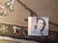 m12h ephemera 1950 picture film star honor blackman premiere purple fig tree