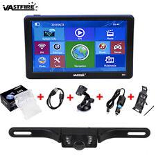 "7"" Car GPS Navigation System Wireless Backup Camera Reverse Rear View Bluetooth"