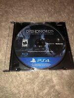 PS4 Dishonored: Definitive Edition (Sony PlayStation 4, 2015) Disc Only Tested