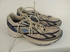 Brooks Adrenaline GTS 7 Womens 42205441 White Blue Running Sneakers Shoes sz 10