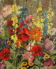 Canvas Print Oil painting Picture still life Floral Impression on canvas L600