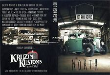 """HOT ROD REVUE """"THE NORTH""""  DVD  rat customs made in NewZealand !"""