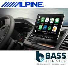 "Alpine iLX-F903D 9"" DAB Bluetooth Apple CarPlay Android Mechless iPhone Stereo"