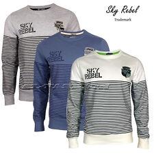 SKY REBEL HERREN Herren Sweatshirt Pullover Sweater Gr.S,M,L,XL,XXL