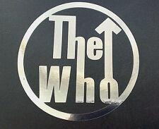 The Who chrome decal sticker scooter LI TV SX GP PK PX mod northern soul ska