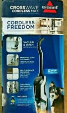 New BISSELL CrossWave Cordless MAX Floor/Carpet Cleaner with Wet-Dry Vacuum 2554