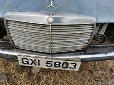 Mercedes Classe S w116 Grille Entrée D/'Air Grill Pare-chocs avant droite