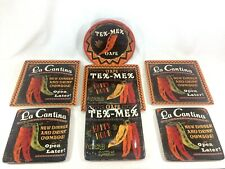 Certified International Dinnerware Tex Mex La Cantina 7 Piece Set Hot Peppers