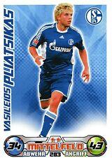 283 Vasileios Pliatsikas - FC Schalke 04 - TOPPS Match Attax 2009/2010