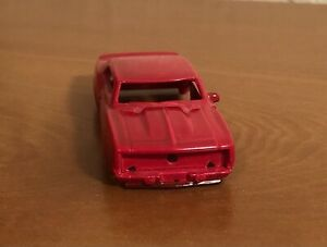 HTF NuRora RRR T-Jet '69 Chevrolet Camaro - Painted Red - Body Only - As Shown