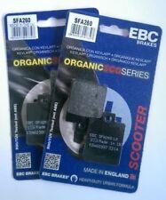 Piaggio MP3 500 (2009 to 2013) EBC Organic FRONT Disc Brake Pads (SFA260) 2 Sets