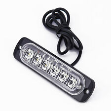 Car 6 LED Daytime Running Light DRL Daylight Fog Lamp Day Lights Universal