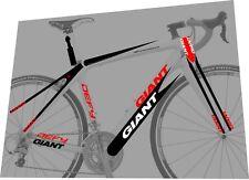 GIANT Defy Advanced  2011 Sticker / Decal Set