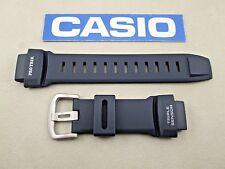 Genuine Casio Pro Trek PRG-260 PRG-550 navy blue resin rubber watch band strap