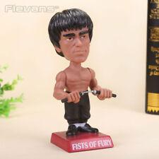 New Funko Pop Bobble Head Captain Bruce Lee PVC Figure Toys Kids Gifts 18Cm F/S