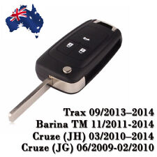Holden Barina/Cruze/Trax 3 Button Remote Flip Key Blank Shell/Case/Enclosure OZ