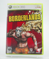 Borderlands Xbox 360 Game W/Manual Tested Free Shipping