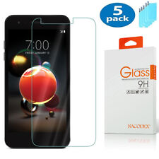 5-Pack Nacodex For Lg Tribute Dynasty (Sp200) Tempered Glass Screen Protector