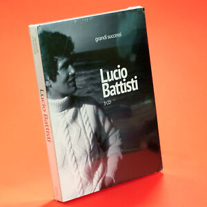 LUCIO BATTISTI 3 CD GRANDI SUCCESSI Cofanetto Greatest hits Sony Music Sigillato