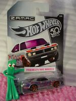 '71 DODGE DEMON #6 Walmart ZAMAC 50TH ANNIVERSARY✰purple;orange✰2018 Hot Wheels