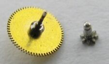 Jaeger LeCoultre Quartz 603 Watch center wheel + cannon pinion h = 1.5 mm