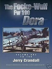 FOCKE-WULF FW 190 DORA VOL 1 JERRY CRANDALL EAGLE EDS