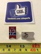 Montreal Canadiens Retired Banner Pin - Épinglette Dickie Moore #12 Jersey Habs