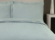 Embroidered Contemporary 100% Cotton Decorative Bedspreads