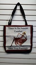 African American Tote Bag No Sweeter Comfort Than Your Presence/Black Americana