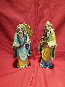 "2 Mudmen Figurines (6"" tall)"
