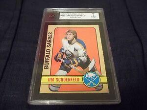1972-73 OPC O-Pee-Chee #220 Jim Schoenfeld Rookie Buffalo Sabres - KSA 7 NM