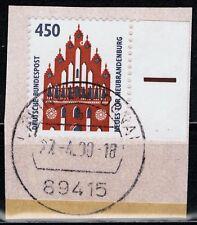 BRD SHW mit Rand und Schnittmarkierung Mi. - Nr. 1623 gestempelt Briefstück