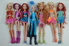 Lot 7 RARE Believix & Enchantix, Icy Winx Club FAIRY full-Size Jakks Dolls
