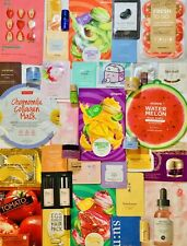 30 Piece High End Skincare/Makeup Korean K-Beauty Lot Samples Sheet Masks