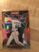 2019 Panini Prizm Ryan O'Hearn Rookie Red Refractor #179 RC Royals
