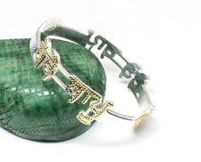 Custom name bangle Sterling Silver BEBE BAPU punjabi kada for men women