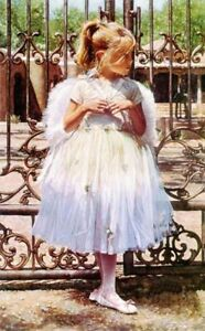 Steve Hanks Angel At The Gate S & N Limited Edition