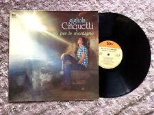 GIGLIOLA CINQUETTI / SU E GIU' PER LE MONTAGNE - LP (Italy 1972)