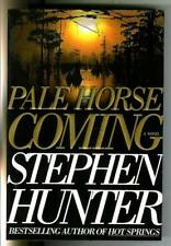 Pale Horse Coming by Stephen Hunter, S&S hard crime Swagger hardcover in Dj
