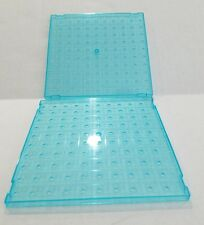 Milton Bradley Battleship Game Replacement Square Water Grid Peg Board Set of 2