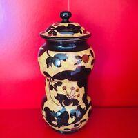 🔴 antico vaso originale MAZZOTTI Albissola albarello Art Decó anni 60 PERFETTO