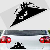 Funny Peeking 3D Eyes For JDM Car Bumper Window Vinyl Decal Sticker Waterproof