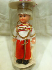 Vintage Handcrafted Soldier Guard Decoration Figure in Original Case