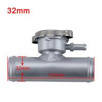 "Universal Aluminum Radiator Inline Filler Neck Hose /Cap, Hose OD=1 1/4"" (32mm)"